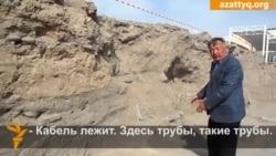 Техника на раскопках Тараза