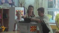 Macedonians Go To Vote