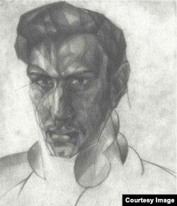 Павел Зальцман. Автопортрет, 1929