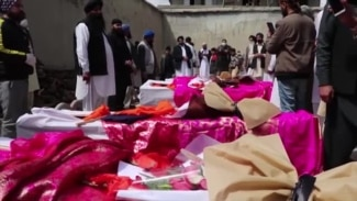 Funerals Held For Victims Of Attack On Sikh Temple In Kabul, Afghanistan (Clean)