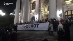 Šezdeseti opozicioni protest u Beogradu