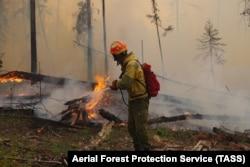 Пожары в Свердловской области. Лето 2021 года