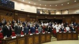 Yerevan-Ermənistan parlamentinin iclası, 2 avqust,2021