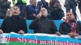 İlqar Məmmədov, mitinqdə çıxış edir, 19 yanvar 2019
