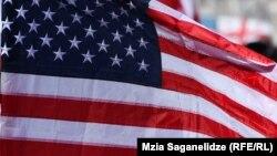 Флаг США, иллюстрационное фото
