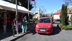 Zagreb: Drive-in korona test