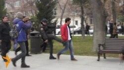 Polcija ponovo hapsila demonstrane u Azerbejdžanu