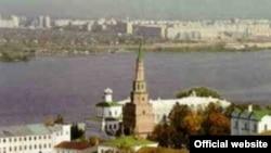 Из казанского кремля площадь Красная видна