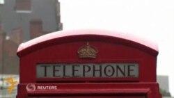Британияда телефонга қувват берувчи будкалар очилди