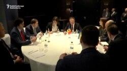 Reuniune Moldova, Ucraina, Georgia pe teme de securitate la Chișinău