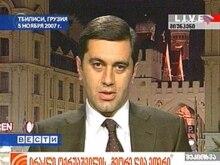 Irakli Okruashvili omdebatterad f.d. försvarsminister