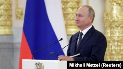 Владимир Путин в Кремле, 23 сентября 2020 года