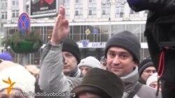 Науковці пікетували «Український дім» через куций бюджет
