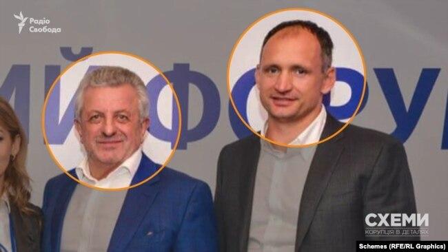 А разом з Коваль та Костіним там також був і Василь Фаринник – колишній бізнес-партнер Олега Татарова