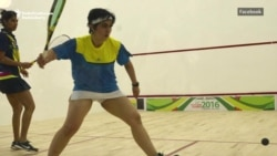 Pakistani 'Genghis Khan' Champions Women's Rights On The Squash Court