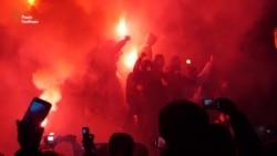 У Дніпропетровську знесли монумент Петровському (відео)