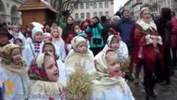 У Львові встановили дідуха