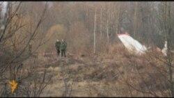 Журналистов от авиакатастрофы спасли венки