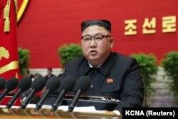 Lideri verikorean Kim Jong Un.