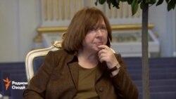Беларус тақдими ҷоизаи Нобел ба Светлана Алексиевичро намоиш намедиҳад