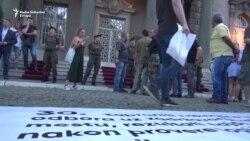 Predsedništvo Srbije okruženo zahtevima '1 od 5 miliona'