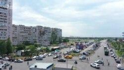 Вибух у житловому будинку в Києві — відео з дрона