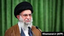 Lideri Suprem i Iranit, Ayatollah Ali Khamenei.