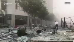 Shpërthim i fuqishëm në Bejrut të Libanit