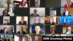 Učesnici dvodnevnog zasjedanja PIC-a videolinkom