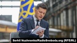 Цим рішенням Зеленський увів у дію рішення Ради національної безпеки і оборони України від 30 липня