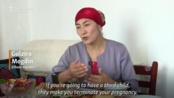 'They Make You Terminate' -- Kazakh Woman Tells Of Forced Abortions In China