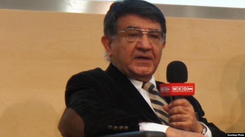 مسعود مصاحب، شهروند دوتابعیتی ایرانی-اتریشی زندانی در اوین