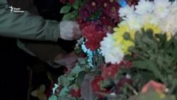 До річниці Майдану у Києві вшанували пам'ять загиблих під час протестів – відео