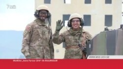 ABŞ hərbi texnikası Gürcüstandadır