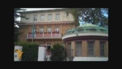 Пикет у казахского посольства в Праге