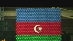 Bakıda bayraq festivalı