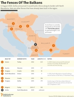 INFOGRAPHIC: The Fences Of The Balkans