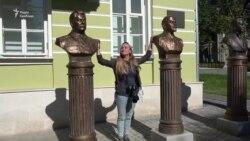 В Москві відкрили погруддя керівників СРСР: Леніна, Сталіна, Горбачова (відео)