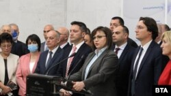 Корнелия Нинова и парламентарната група на БСП