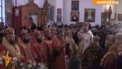 Православные молились о защите Алматы от стихии