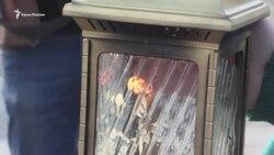 Как на Чонгаре передавали «благодатный огонь» в Крым (видео)
