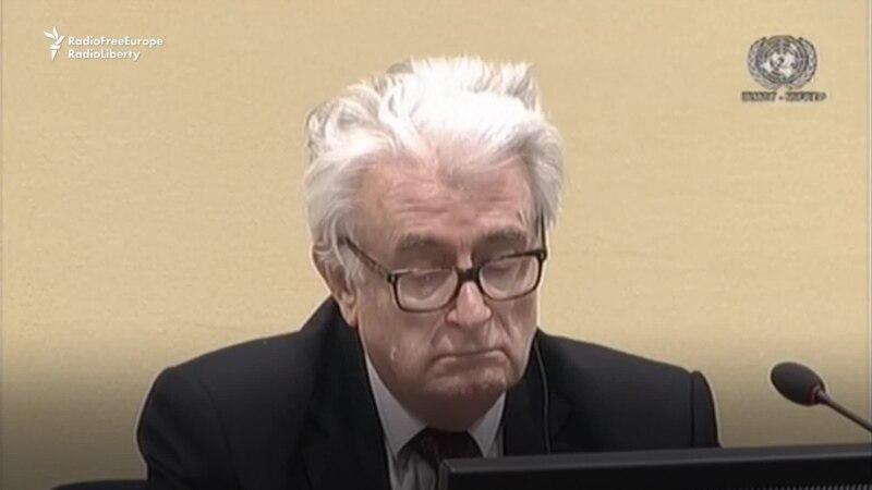 Bosnian Massacre Survivors Hail UN Court Ruling on Karadzic Sentence