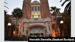 A Florida State University campusa 2020 márciusában.