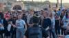 Protesta para parlamentit hungarez për të kundërshtuar projektligjin anti-LGBT.