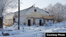 Казахстан. Поселок Рудник после переселения его жителей. Карагандинская область.