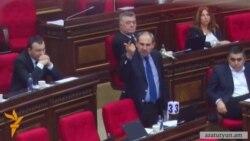 Հայհոյախառն վեճ ԱԺ-ում․ Փաշինյանի հարցը դուր չէր եկել Առաքել Մովսիսյանին