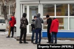 Жители Кызыла