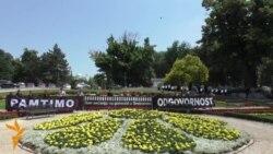 11.06 2015 Перформанс во Белград, Бан Ки Мун во Киргистан