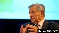 Soros György egy 2013-as konferencián