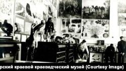 Экспозиция Подвижного педагогического музея. Красноярск. Начало ХХ века.